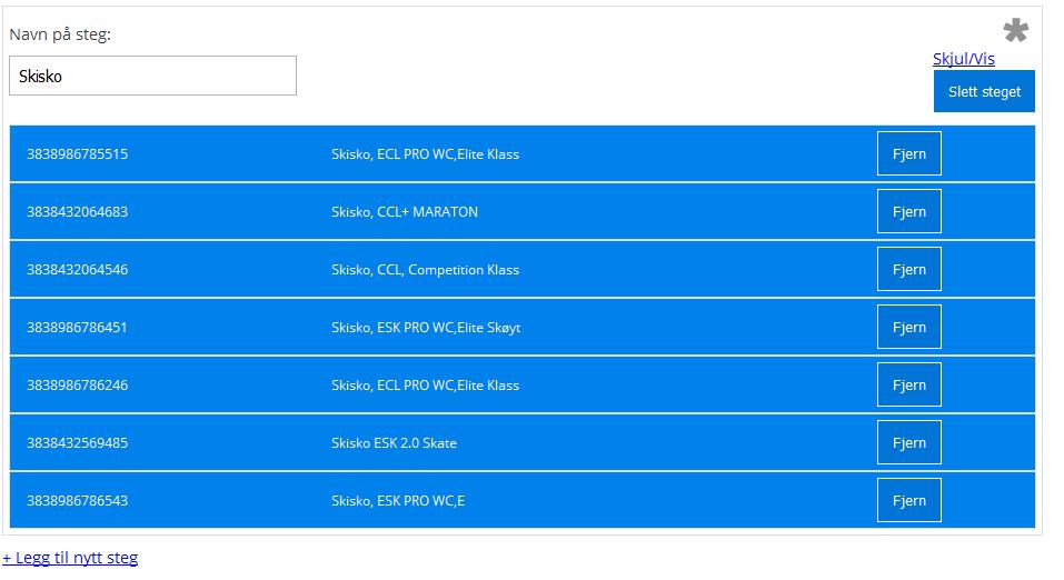 pakkesteg-Digitrollpakkevarebygger for nettbutikk