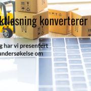 Årets netthandelundersøkelse om fraktbetingelser i nettbutikk fra Digitroll